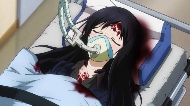 Anime Car Accident Coma